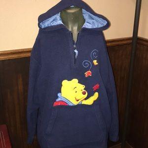 NICE Disney Winnie The Pooh Bear Fleece Pullover